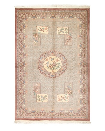 Roubini Chinese Art Deco Rug [Tan Multi]
