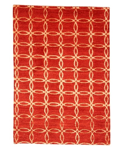 Roubini New Sketch Hand Knotted Rug, Multi, 2' x 3'