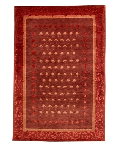 Roubini Tibetani Tibetan Super Fine Collection Rug, Red Multi, 5' 5 x 8'