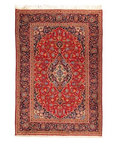 Roubini Kashan Rug, Multi, 6' 8 x 9' 9