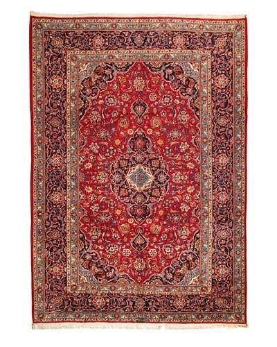 Roubini Meshed Rug, Red Multi, 10' 6 x 7' 4