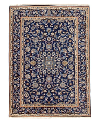 Roubini One of a Kind Old Kashan Rug [Blue Multi]