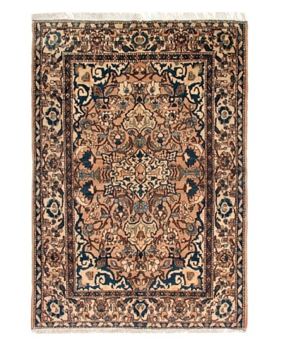 Roubini One of a Kind Old Isfahan Rug [Blue Multi]