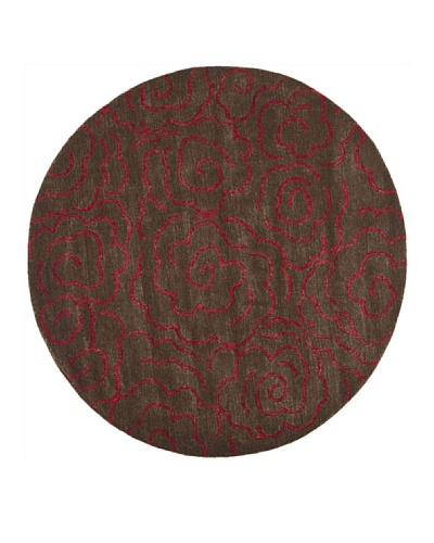 Safavieh Soho Collection Roses New Zealand Wool Rug