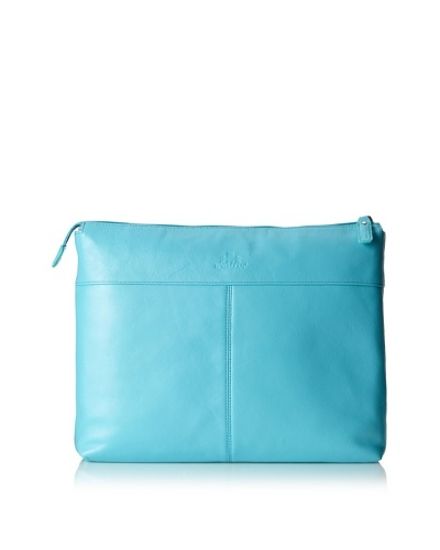Rowallan of Scotland Melinda Laptop Folio, Blue Curaçao