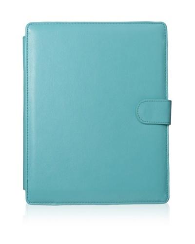 Rowallan of Scotland Stephanie iPad Folio, Blue Curaçao