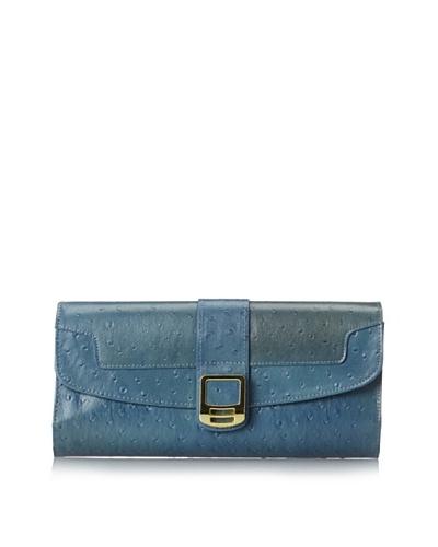 Rowallan of Scotland Women's Lydia Jewelry Clutch, French Blue