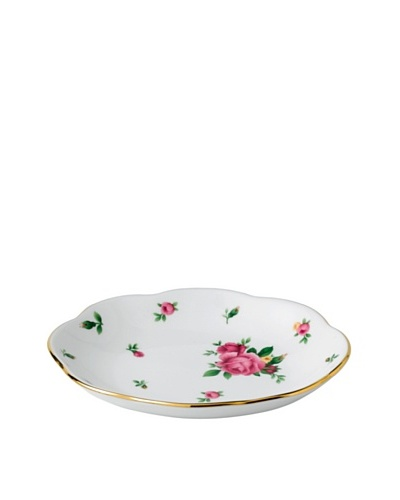 Royal Albert New Country Roses Oval Tray, White