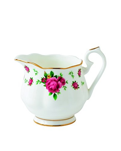 Royal Albert New Country Roses Vintage Creamer, White