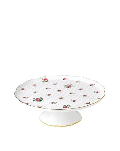 Royal Albert Pink Roses Large Cake Stand