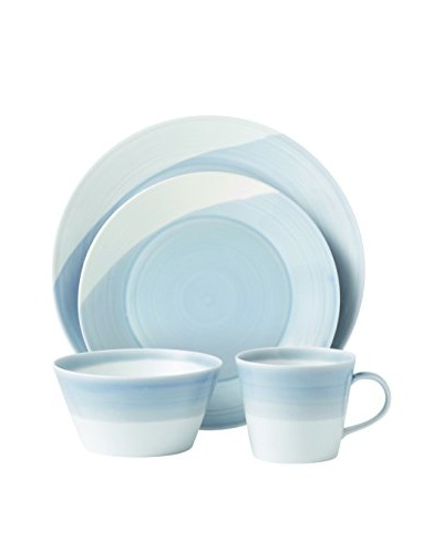 Royal Doulton 4-Piece 1815 Dinnerware Set, Blue