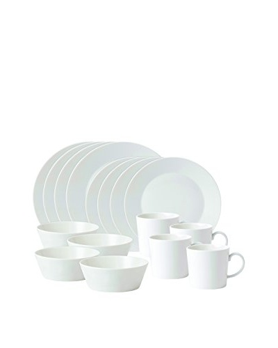 Royal Doulton Fable 16-Piece Dinnerware Set, White