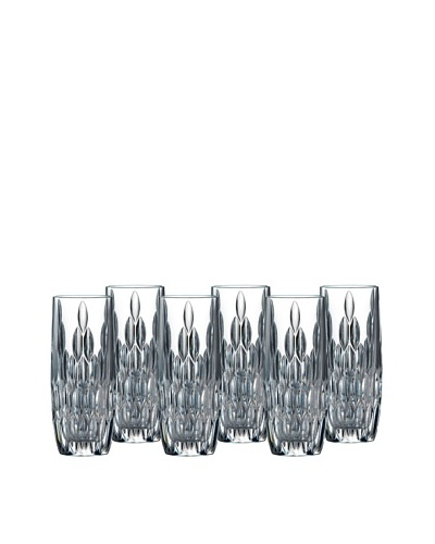 Royal Doulton Set of 6 Retro 10-Oz. Hi-Ball Glasses