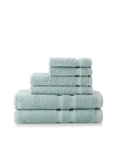 Royalty by Victoria House 6-Piece Bath Towel Set, Mineral