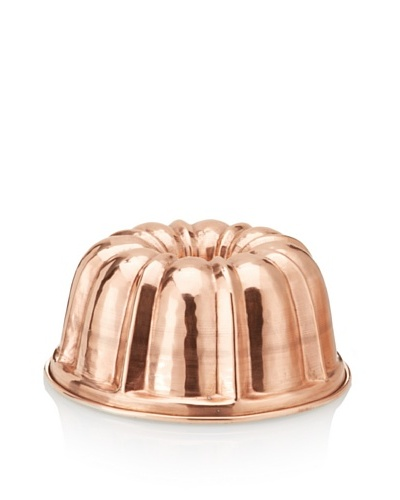 Ruffoni Stampi Collection Copper 7 Round Brioche Mold