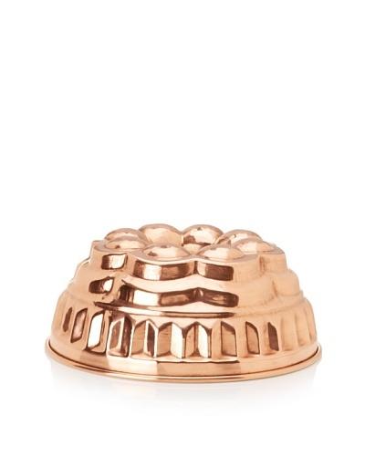 Ruffoni Stampi Collection Copper 10.5 Round Brioche Mold