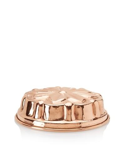 "Ruffoni Stampi Collection Copper 11"" Round Flower Brioche Mold"