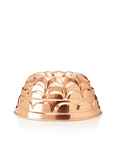 Ruffoni Stampi Collection Copper 9 Round Brioche Mold