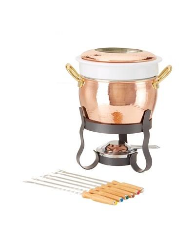 Ruffoni Cremeria Collection Copper 11-Piece Fondue SetAs You See