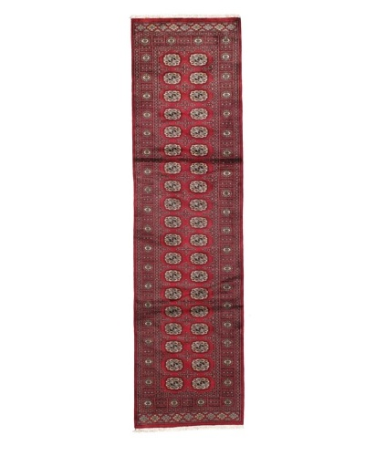 Rug Republic One Of A Kind Bokhara Hand Knotted Rug, Bokhara Red/Multi, 2' 8 x 10' 1 RunnerAs You ...