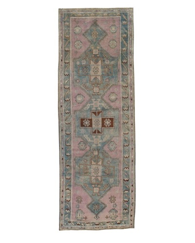 "Rug Republic One Of A Kind Turkish Anatolian Hand Knotted Rug, Multi, 3' 8"" x 10' 7""As You..."