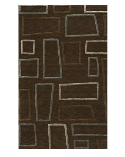 Rug Republic Vibe Layered Rug [Brown]