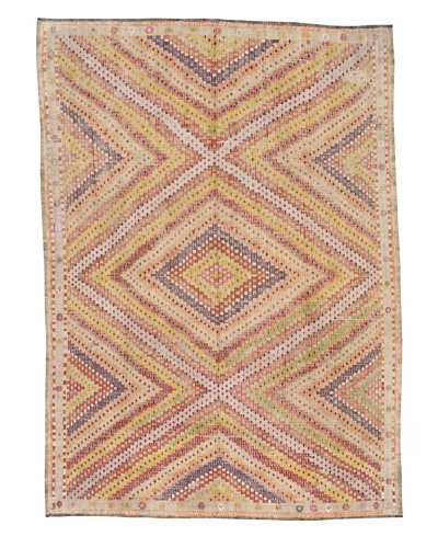 """Rug Republic One Of A Kind Turkish Tribal Hand Woven Flat Weave Rug, Multi, 6' 5"""" x 9' 9""""A..."""