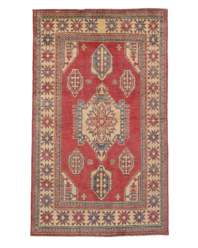 Rug Republic One Of A Kind Pakistani Kazak Rug, Red/Blue/Antique Ivory/Multi, 3' 6 x 5' 1As You See