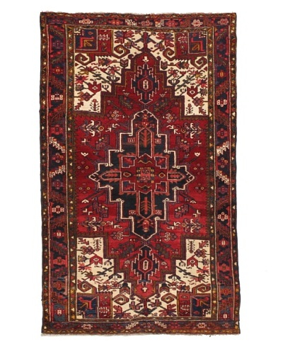 Rug Republic One Of A Kind Unique Vintage Persian Village Rug, Multi, 4' 6 x 7' 6As You See
