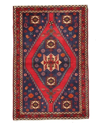 Rug Republic One Of A Kind Unique Vintage Persian Village Rug, Multi, 3' 1 x 5' 1As You See