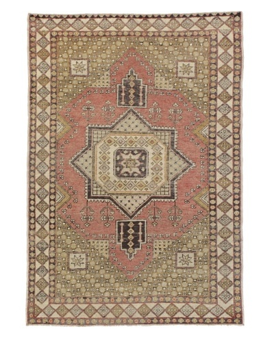 Rug Republic One Of A Kind Turkish Anatolian Hand Knotted Rug, Multi, 4' 3 x 6' 3As You See