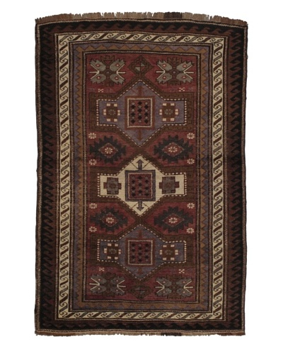 Rug Republic One Of A Kind Turkish Anatolian Hand Knotted, Multi Rug, 4' 3 x 6' 4As You See