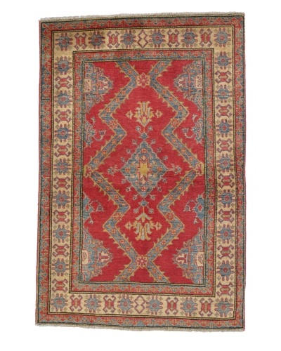Rug Republic One Of A Kind Pakistani Kazak Rug, Red/Blue/Antique Ivory/Multi, 3' 1 x 5' 1As You See