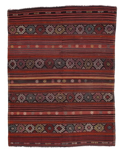 Rug Republic One Of A Kind Turkish Tribal Hand Woven Flat Weave Rug, Multi, 5' 11 x 7' 8As You See