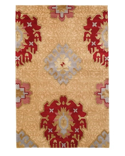 Rug Republic One Of A Kind Hand Knotted Wool & Silk Rug, Multi, 3' 9 x 5' 9As You See