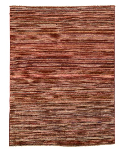 Rug Republic One Of A Kind Hand Knotted Stripped Gabbeh Rug, Multi, 4' 1 x 6' 5As You See
