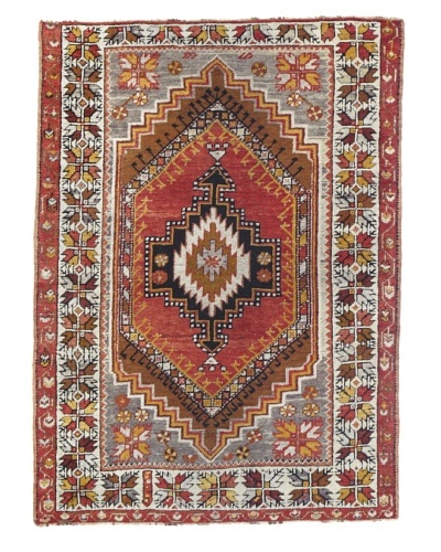 Rug Republic One Of A Kind Turkish Anatolian Hand Knotted Rug, Multi, 3' 7 x 5'As You See