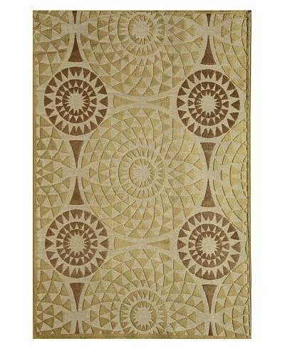 Rugs America Salerno Chenille Mosaic [Mosaic Ivory]