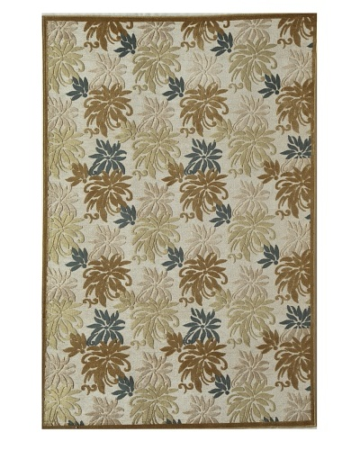 Rugs America Salerno Chenille Palms [Palms Gold]