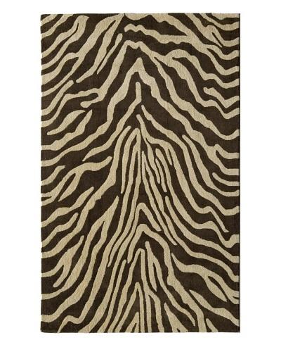 Rugs America Urban Brown Zebra