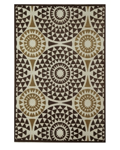 Rugs America Salerno Chenille Mosaic [Mosaic Chocolate]