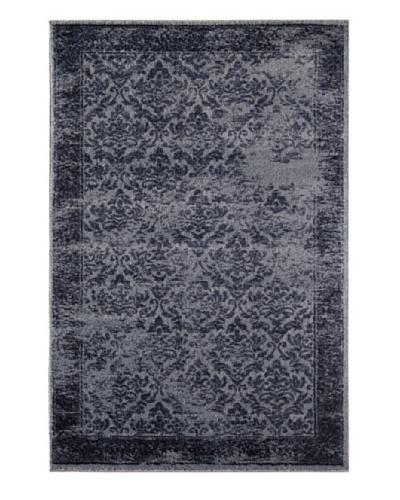 Rugs America Hudson Plush Rug [Blue Vintage]