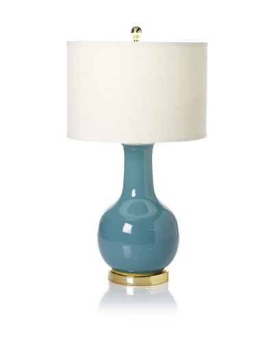 Safavieh Ceramic Table Lamp [Light Blue]