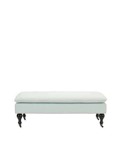 Safavieh Hampton Pillowtop Bench, Robins Egg Blue