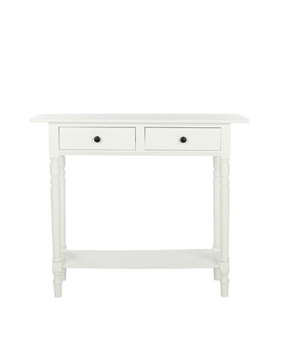 Safavieh Rosemary Console, Distressed Cream
