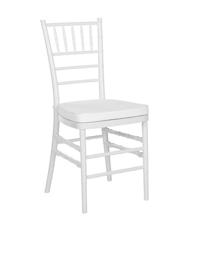 Safavieh Set of 2 Carly Side Chair, White