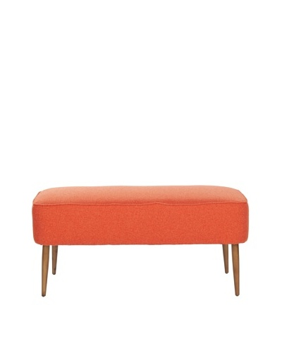 Safavieh Levi Bench, Orange