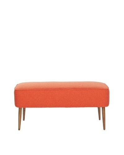 Safavieh Levi Bench, Orange