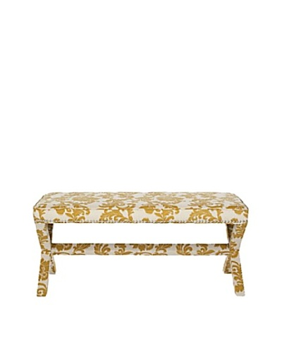 Safavieh Melanie Extended Bench, Maize/BeigeAs You See