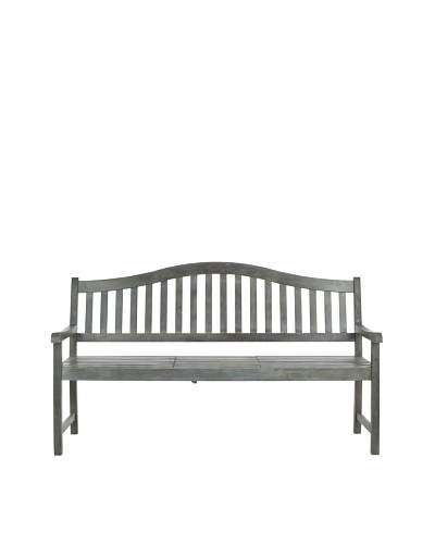 Safavieh Mischa Bench [Ash Grey]